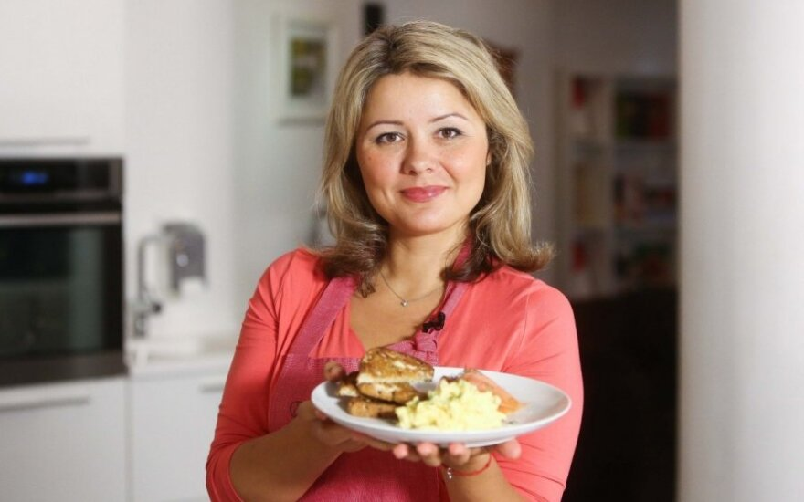 Beata Nicholson gamina pusryčius