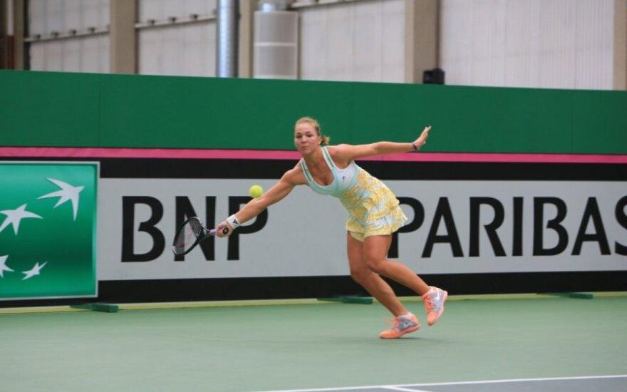 A. Paražinskaitė pralaimėjo turnyro Egipte ketvirtfinalyje