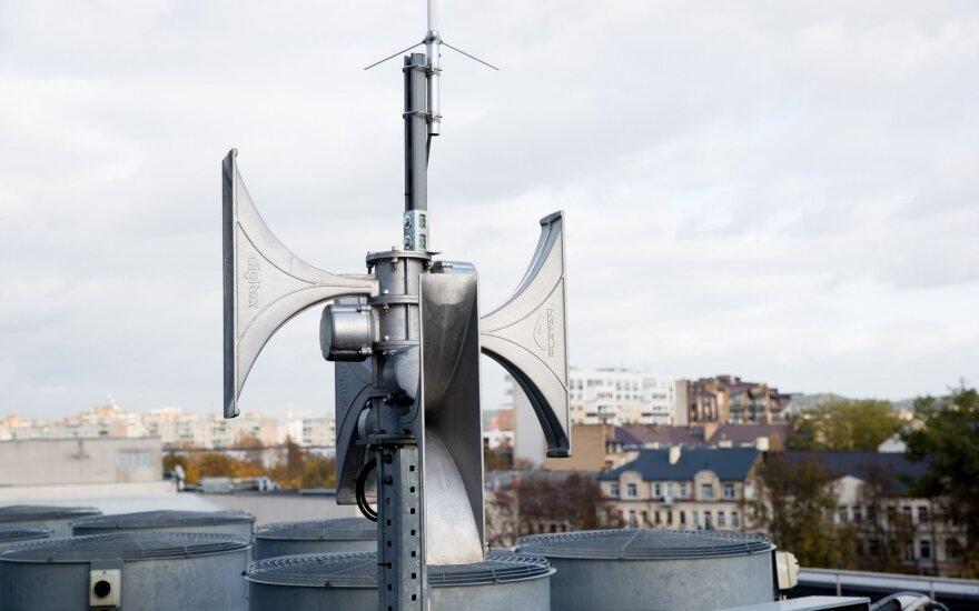 Visoje šalyje pasigirs sirenų gausmas: tikrins gyventojų perspėjimo sistemas