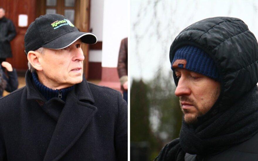 S. Januška ir A. Radzevičius