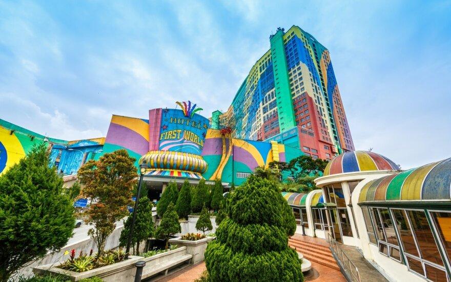 Didžiausi pasaulio viešbučiai, primenantys atskirus miestus