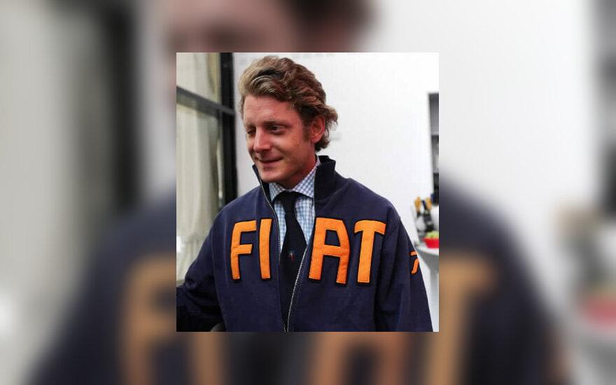 """Lapo Elkannas, """"Fiat"""" įsteigusios Agneli šeimos įpėdinis"""
