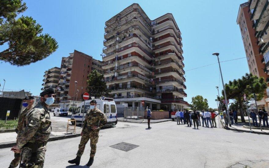 Italija svarsto toliau švelninti ribojimus