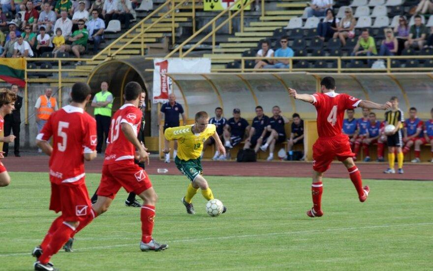 """Nepaisant sunkios kelionės, """"Sūduvos"""" žaidėjai Serbijoje nusiteikę optimistiškai"""