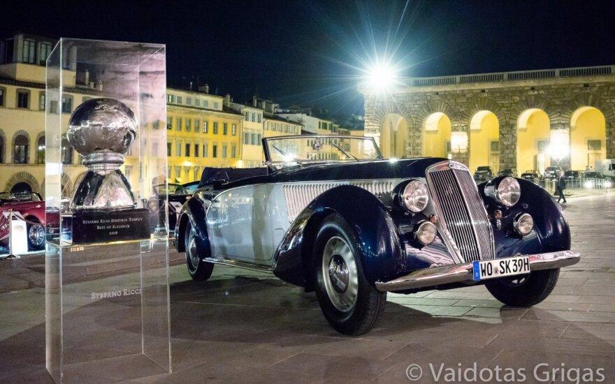 Lancia Astura Cabriolet Pinin Farina. Vaidoto Grigo nuotr.