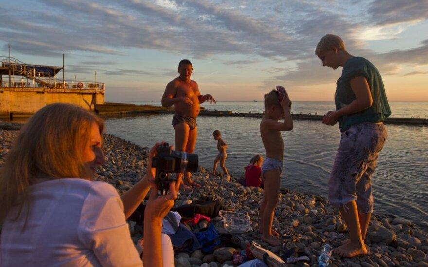 Pasikeitė rusų turistų elgesys