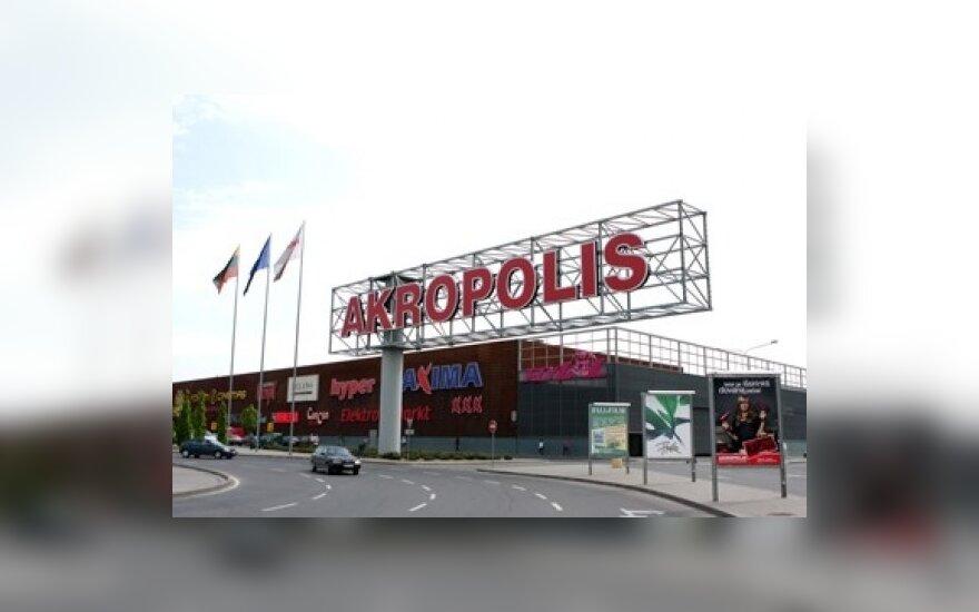 """Šiauliuose duris atveria """"Akropolis"""""""