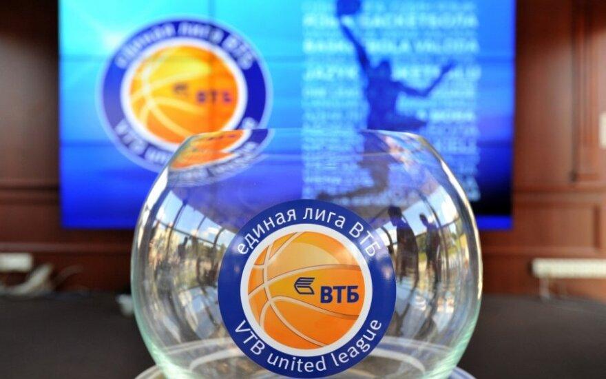 VTB lygos burtų traukimo ceremonija