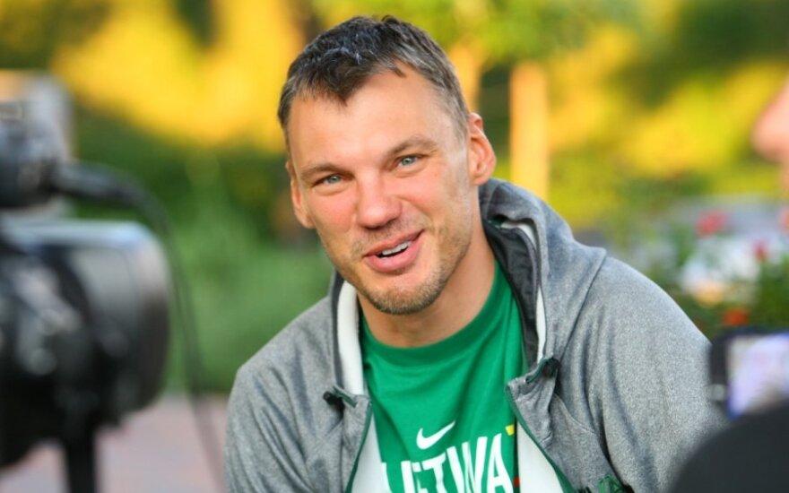 Š. Jasikevičius: rinktinė eina į priekį ir ją reikia tik palaikyti - juk vyrai vasarą paaukojo