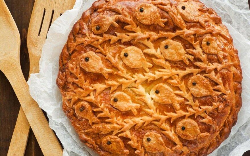 Gardus žvejo pyragas