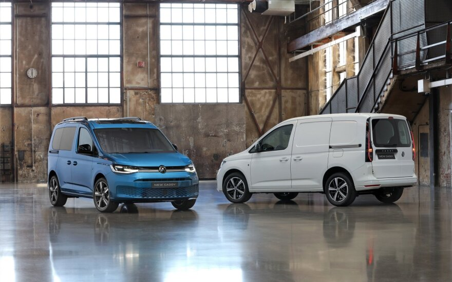 "Naujasis ""Volkswagen Caddy"""