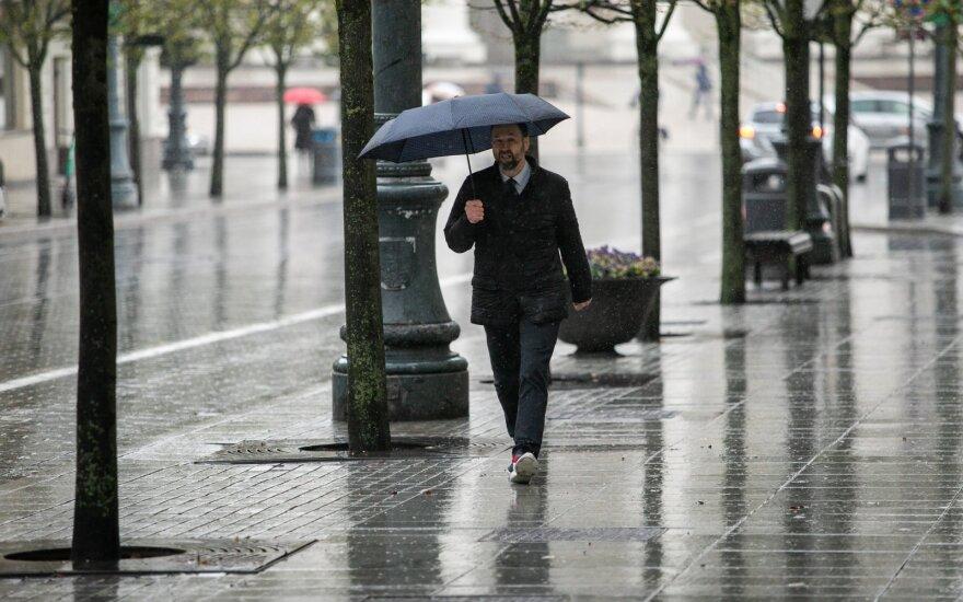Po merkiančio lietaus periodo orai keisis: viena savaitgalio diena turėtų maloniai nustebinti