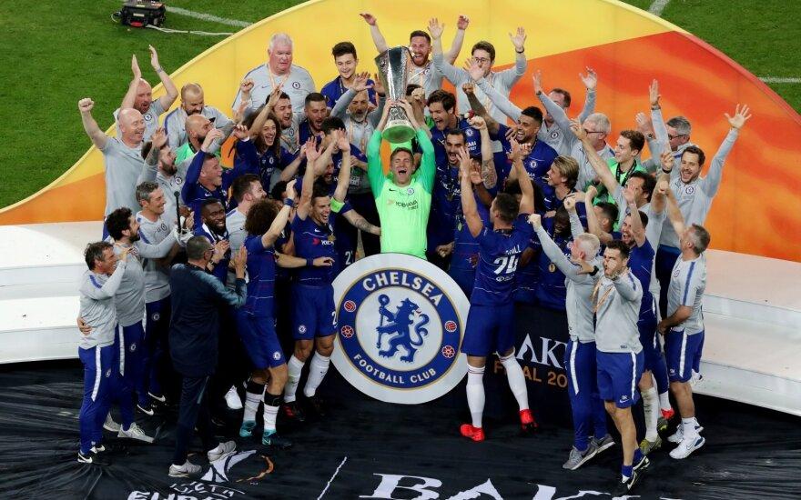 """""""Chelsea"""" triumfas Europos lygos finale"""