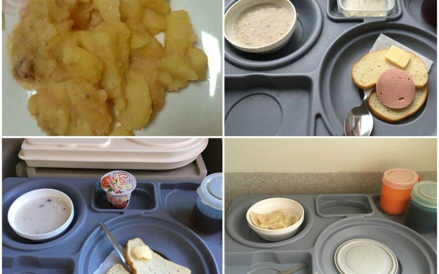 Skaitytojai dalinasi ligoninės maisto nuotraukomis: tai viešųjų pirkimų rezultatas