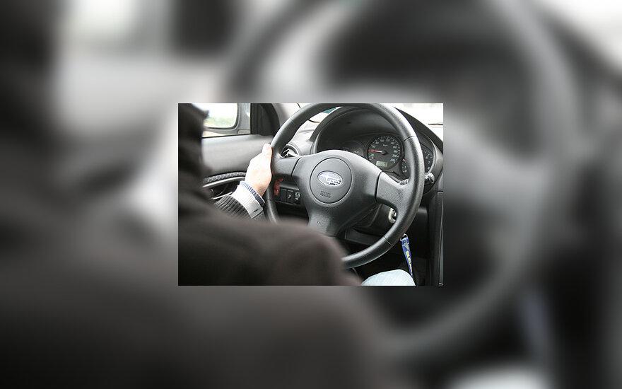 Vairuotojas, automobilis, vairuoti automobilį