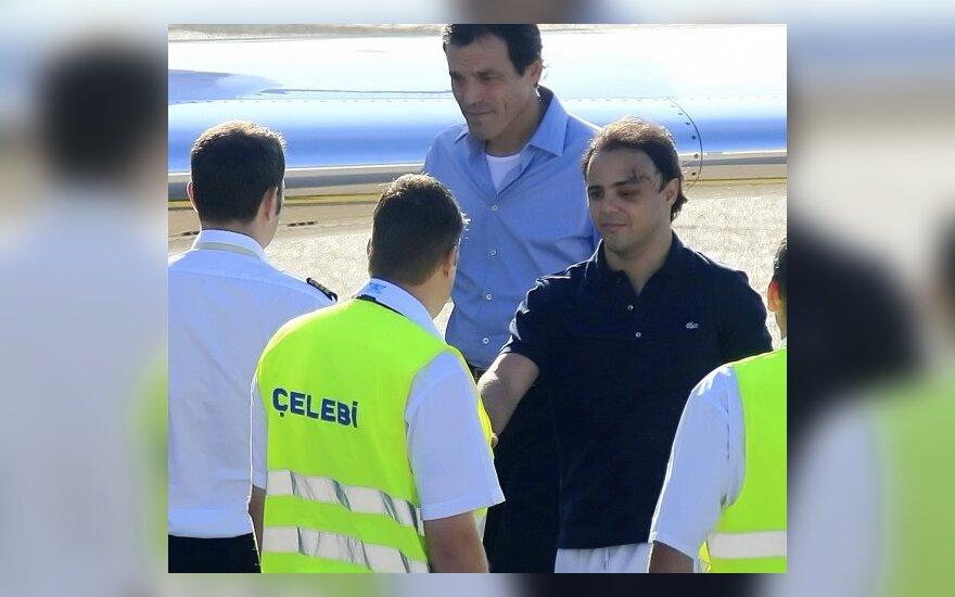 Sveikstantis Felipe Massa palieka Vengriją
