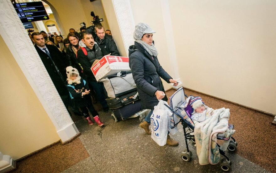 Giria pabėgėlių šeimos žingsnį: po teismo sprendimo viskas stos į savas vietas