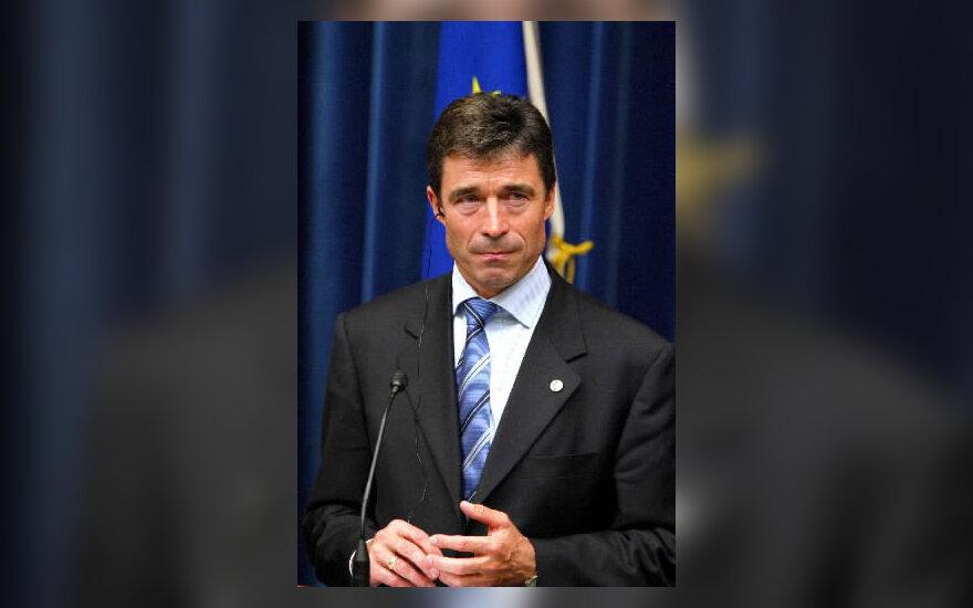 Danijos premjeras Andersas Foghas Rasmussenas