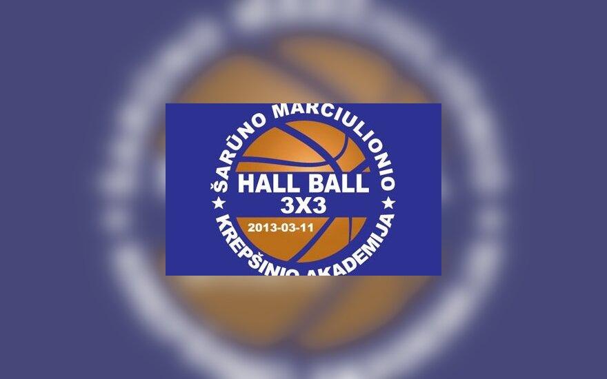 """HALL BALL"" turnyro 3x3 logotipas"