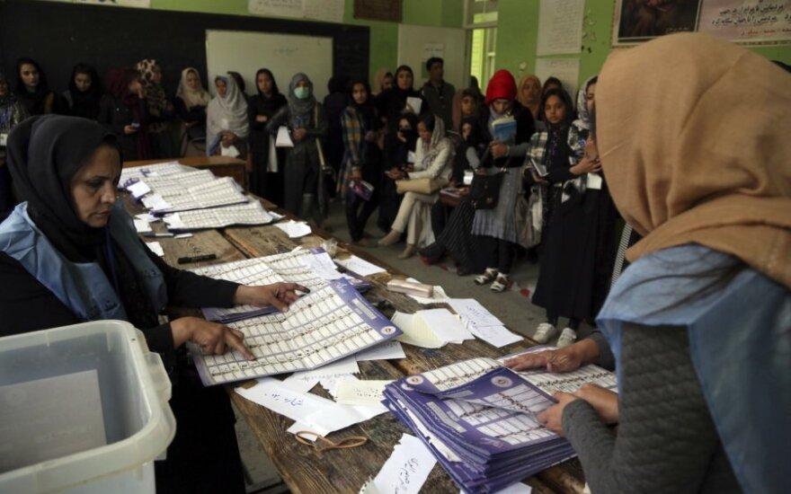 Afganistano parlamento rinkimai