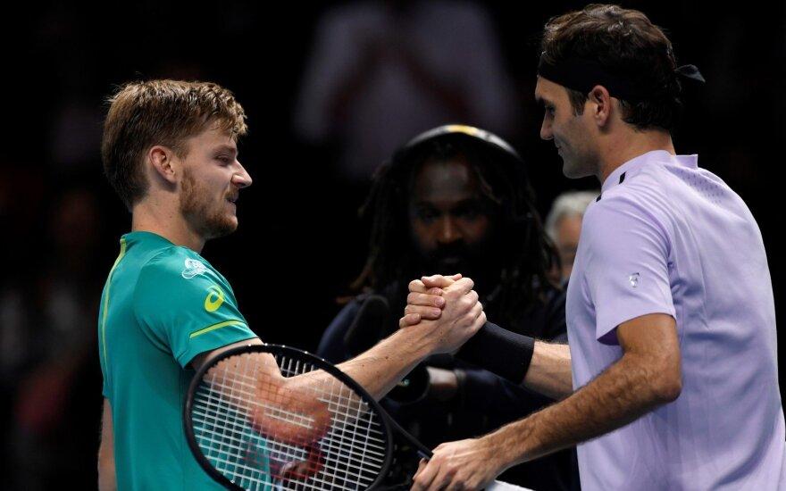 Davidas Goffinas ir Rogeris Federeris