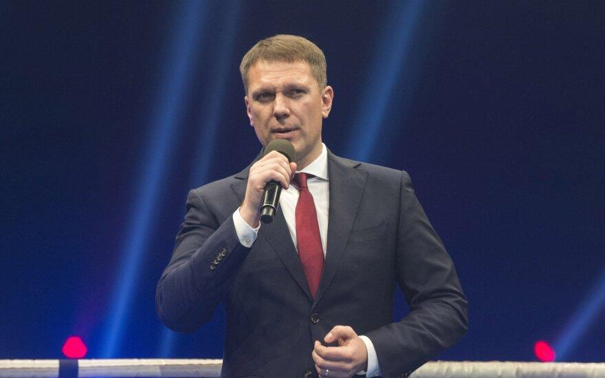 LBF prezidentas Darius Šaluga