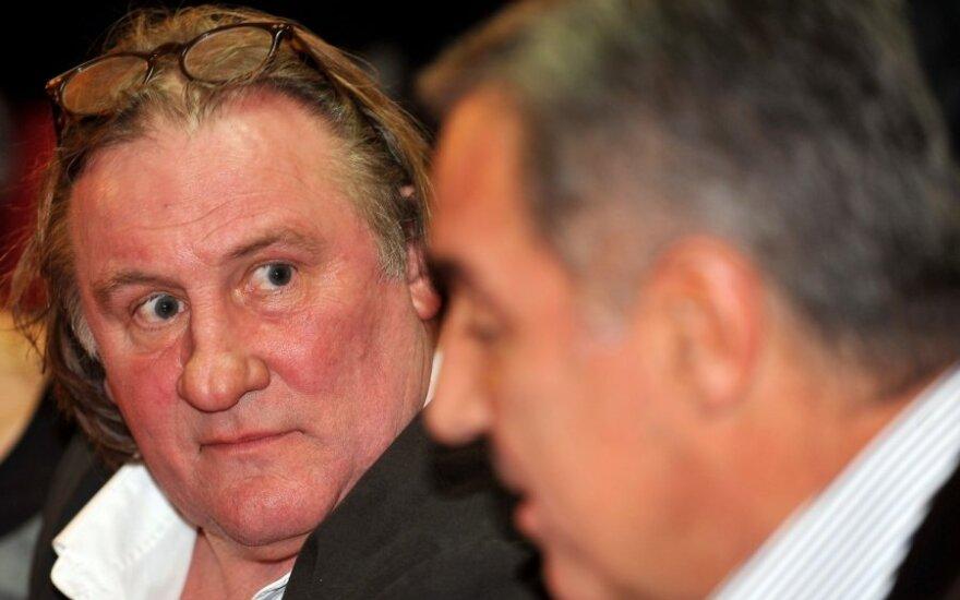 Gerardas Depardieu ir Milo Džukanovičius