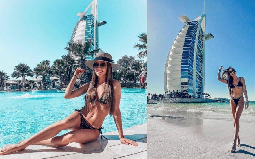 Viktorija Siegel Dubajuje