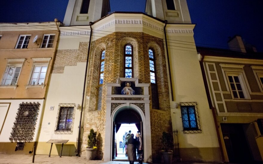 Į vienintelę naktį veikiančią bažnyčią užsuka ir klubinėtojai