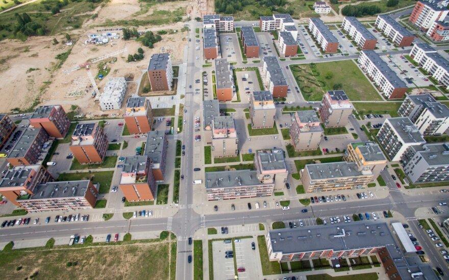 """Lietuvos miestelių laukia """"miegamųjų rajonų"""" ateitis"""