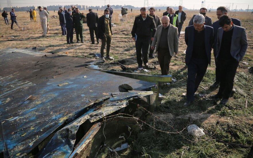 Amerikiečiai prisijungs prie Irano tyrimo dėl lėktuvo katastrofos