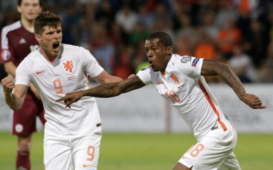 Euro-2016 atrankoje – G. Bale'o kirtis belgams, penkta islandų pergalė ir latvių nesėkmė prieš olandus