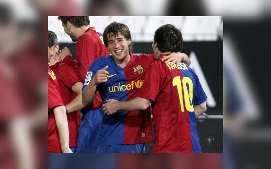 """Ispanijos čempionato turas baigėsi """"Barcelona"""" pergale"""
