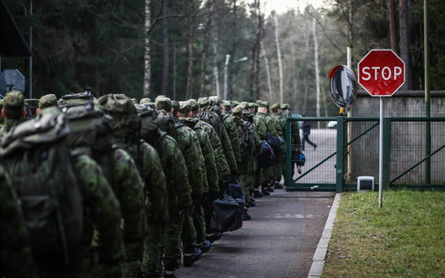 Several hundred Lithuanian troops leave for multinational exercise in Germany