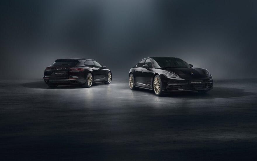 """""""Porsche"""" švenčia 10-ąjį """"Panamera"""" gimtadienį: sukūrė ypatingą modelį"""