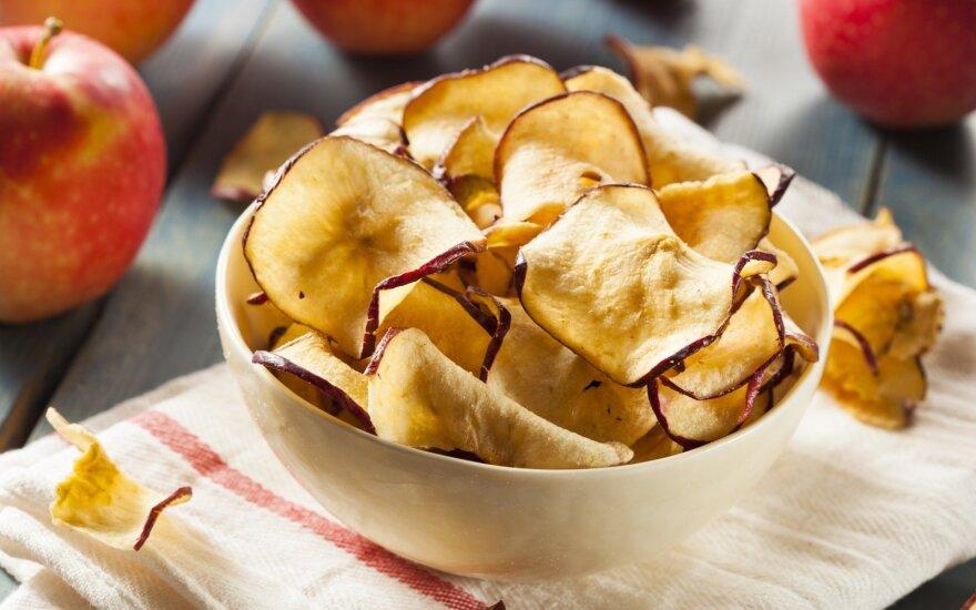 Džiovinti obuoliai