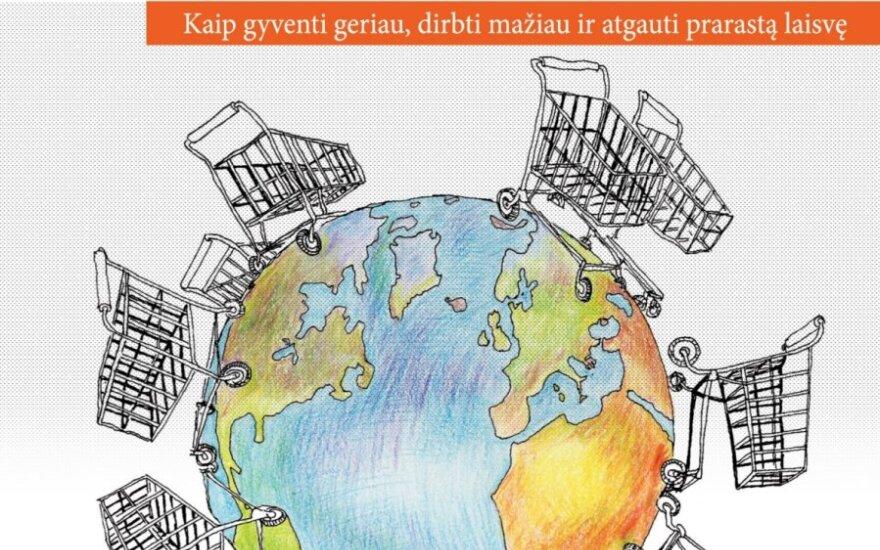 Buvusio italų verslininko knygos apie vartojimą viršelis