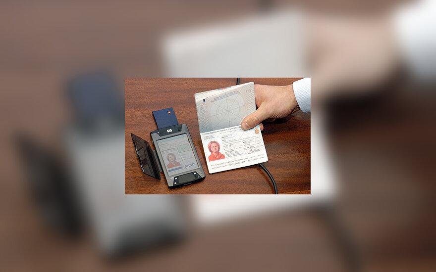 Pasas su biometrine informacija