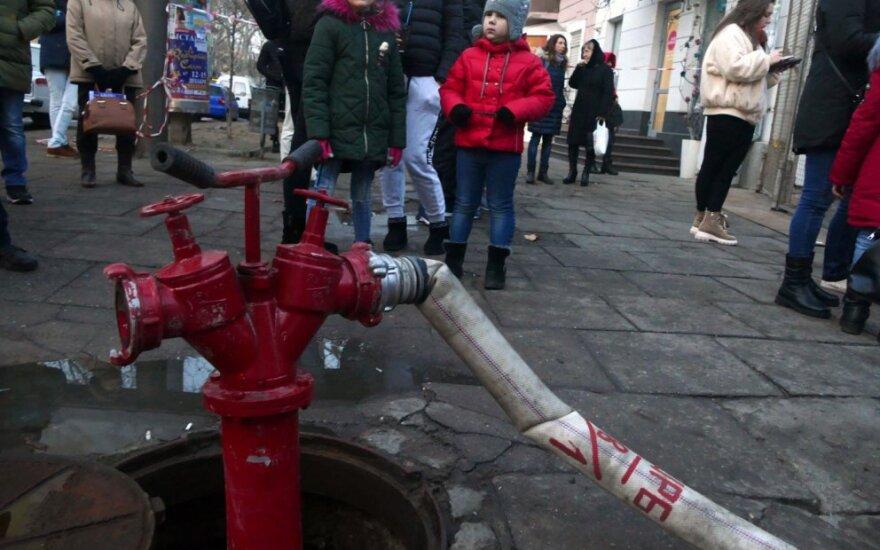 Rytų Ukrainoje per gaisrą psichiatrinėje ligoninėje žuvo keturi žmonės