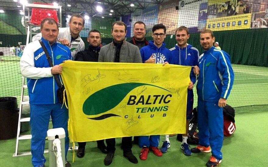 """""""Baltic tennis club"""" komanda"""