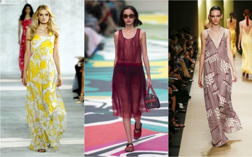 Suknelės šią vasarą būtinos: kokios madingiausios