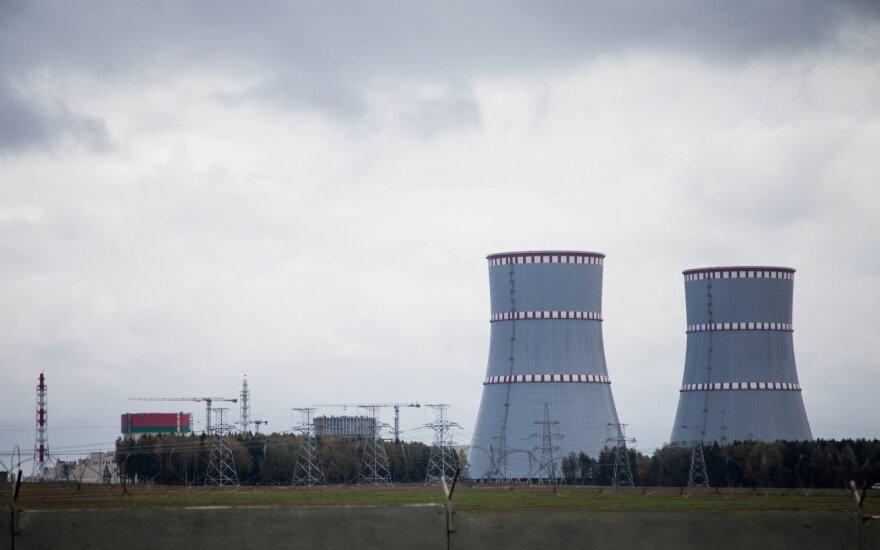 Astravo AE pirmasis reaktorius visa galia turėtų pradėti veikti 2021-ųjų vasarį