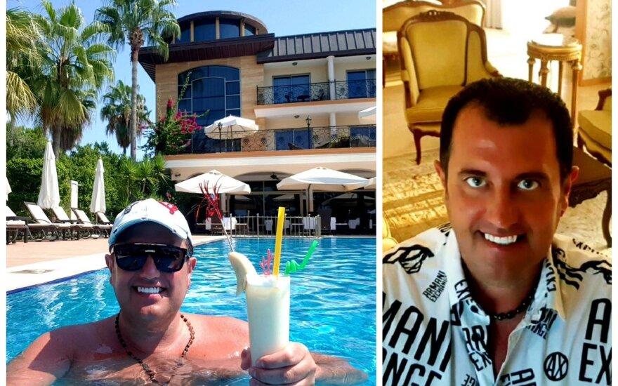 Ryčio Cicino atostogos Turkijoje