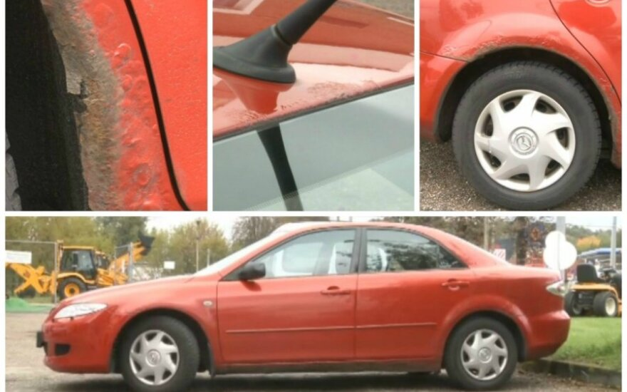 Surūdijusi Mazda6
