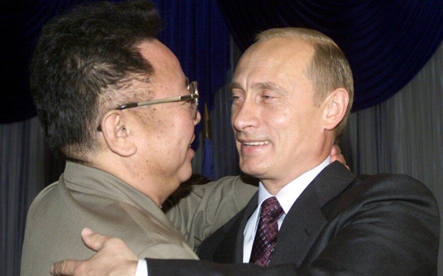 Kim Jong-Il, Vladimir Putin