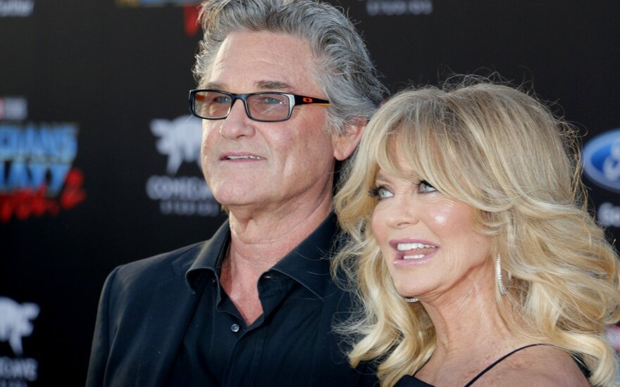 Kurt Russell ir Goldie Hawn