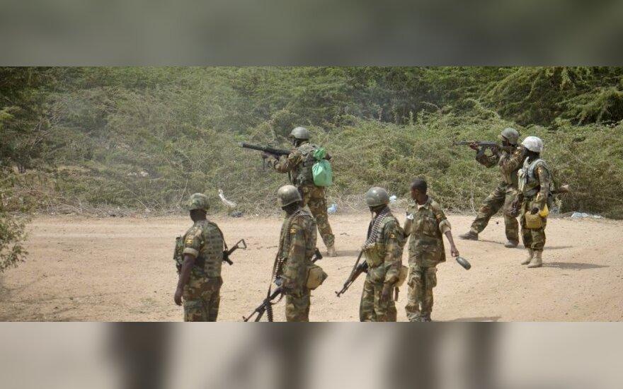 Somalyje pasidavė sukilėlių grupuotės lyderis