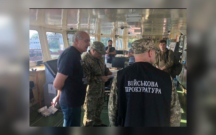 Ukrainos saugumo tarnybos nuotr.