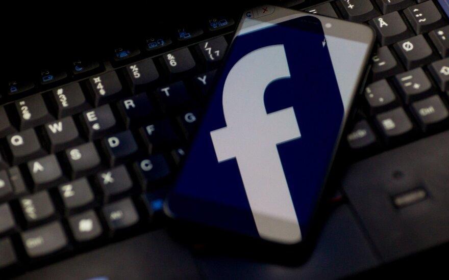 """ES ragina """"Facebook"""" visapusiškai bendradarbiauti tiriant skandalą dėl asmens duomenų"""