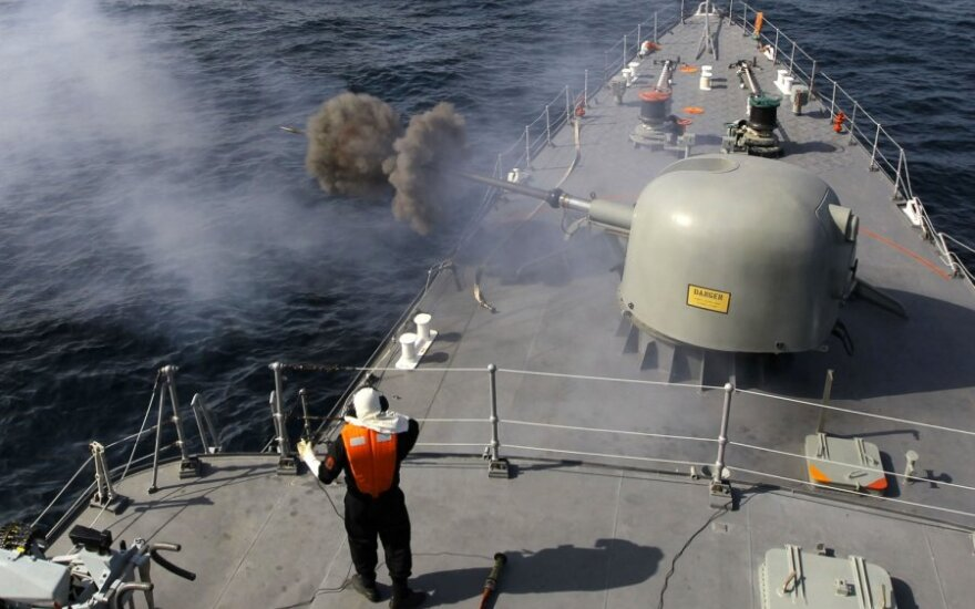 Irano karinės pratybos Persijos įlankoje